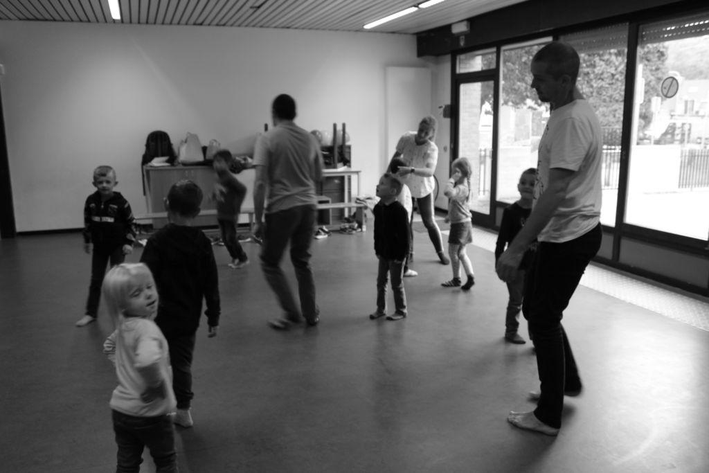 Avec Inti Théâtre - atelier de recherche (Ballon Bandit)