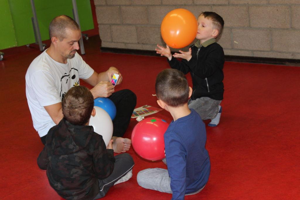 Avec Inti Théâtre - en recherche de création pour Ballon bandit